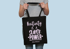 Tote Bag Negro Positivity