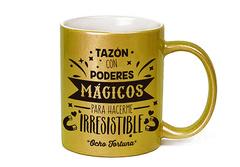 Tazón Dorado con Poderes Mágicos
