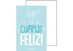Postal Cumpleaños que los cumplas feliz