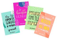 Pack 4 postales Reforzamiento positivo