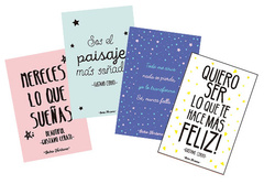 Pack 4 postales Cerati