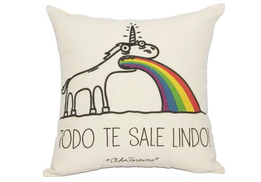 Cojín Unicornio