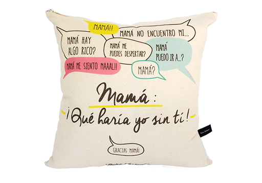 Cojín Mamá, Mamá!!