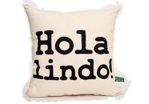 Cojín Hola Lindo!