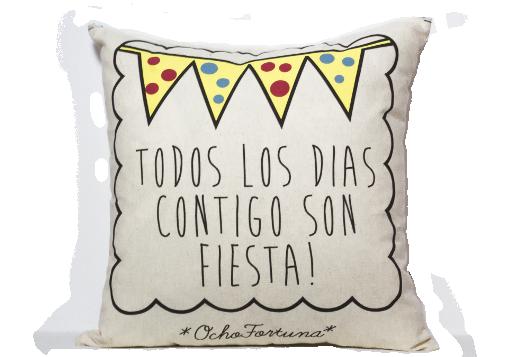 Cojín Fiesta