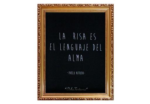 Cuadro 15x20 Pablo Neruda (La Risa)