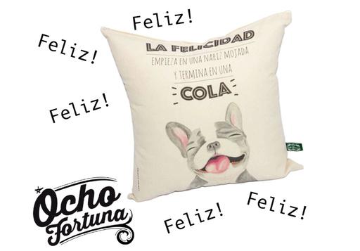Cojín Perro Feliz!