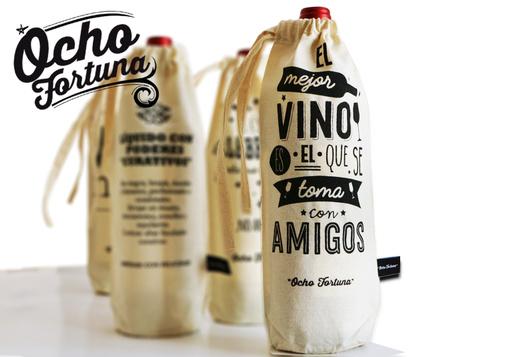 Funda de botella Amigos