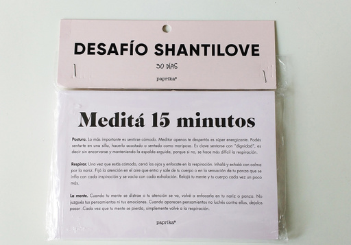 Desafío Shantilove