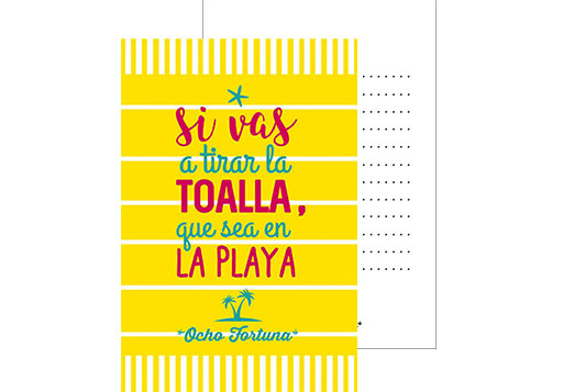 Pack 4 postales Motivación!