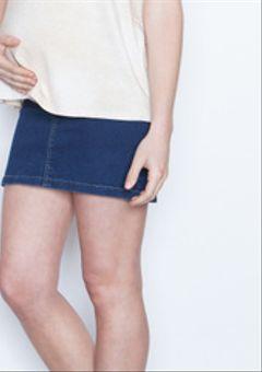 Falda Corta Jeans