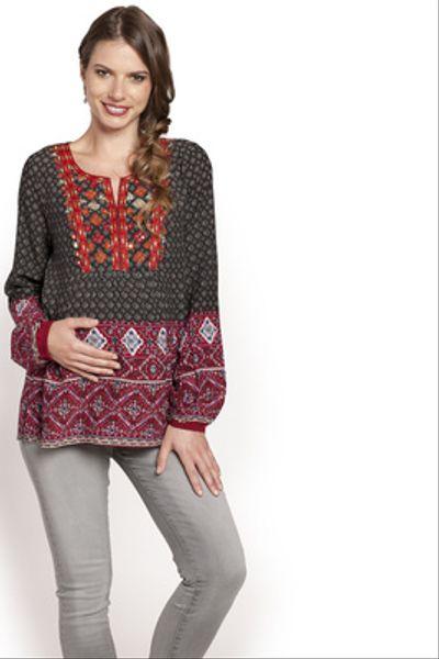 Blusa India Estampada M/L