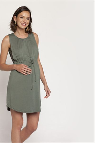 Vestido Gabriela corto S/M Khaki