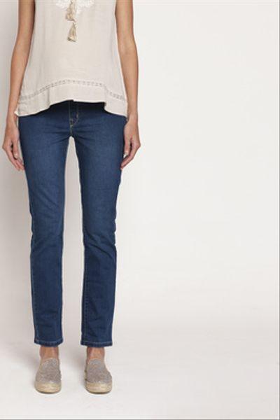 Jeans Maternal Anita Recto Celeste