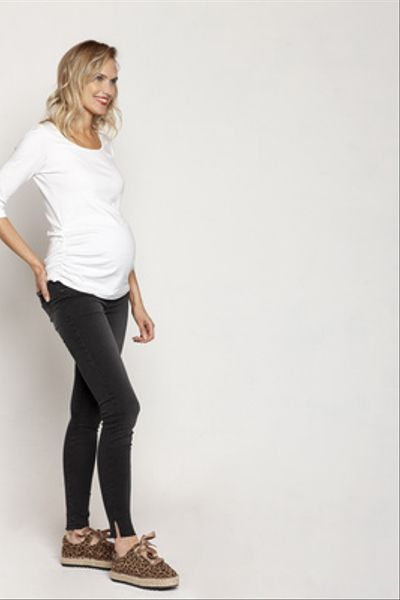 Jeans Maternal Loreto Tajalí Negro