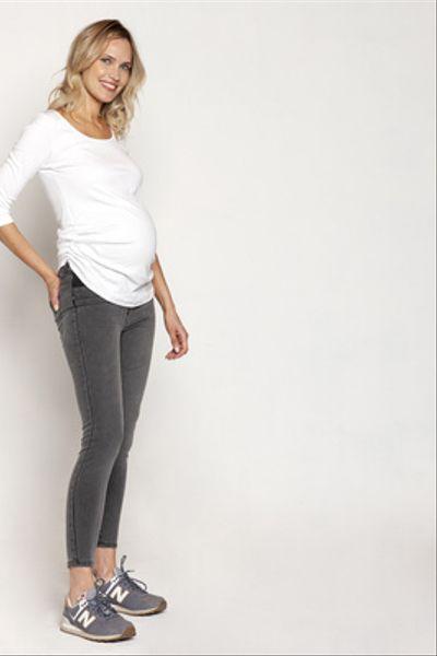 Jeans Maternal Clara Gris