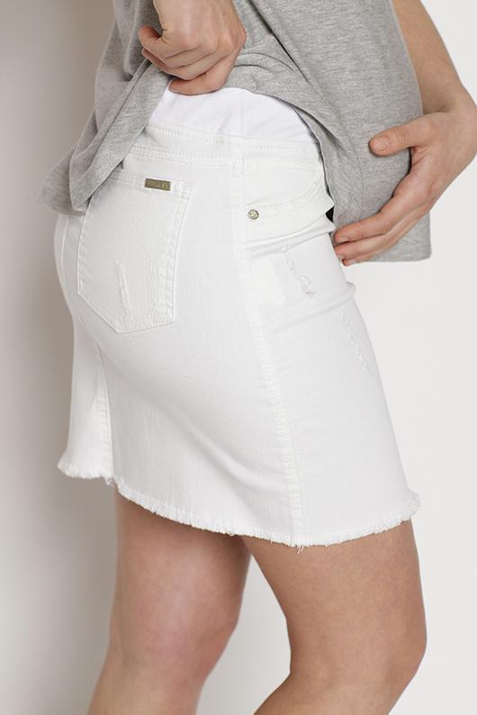 Mini Jeans Blanca