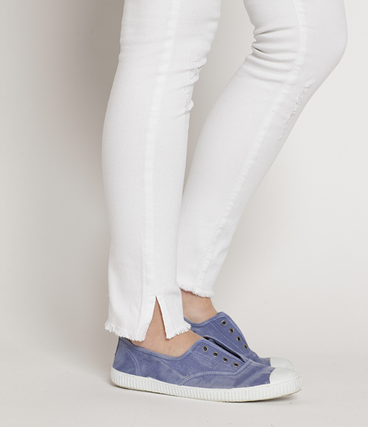 Jeans Anita Pitillo Dremel Blanco