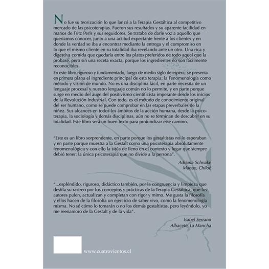 Fenomenología y terapia Gestalt