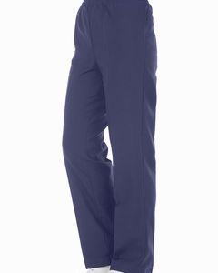 Pantalón Mujer azul cintura elasticada