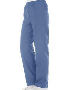 Pantalón Mujer celeste cintura elasticada