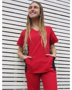 Conjunto Urban Scrub y pantalon  rojo