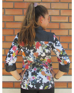 Chaqueta Laura Frida en algodón eco-friendly