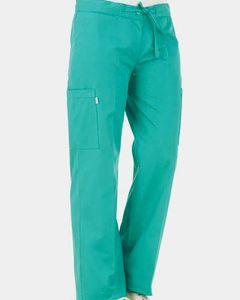Pantalón Cargo mujer verde pabellón