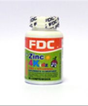 Vitaminas y Zinc para Niños - Zinc 4 Kids