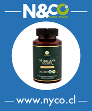 Spirulina Sports (ESPIRULINA, 360 tabletas)