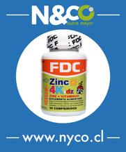 Zinc 4 Kitt - (Vitaminas + Zinc, especial para niños)