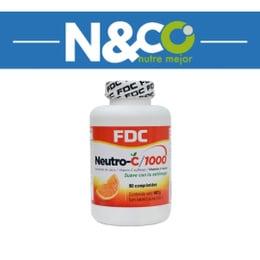 VITAMINA C de 1000 mg (No ácida)-90 comprimidos