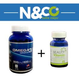 Pack Beauty Vitamin y Omega 3 Advance (20% menos)