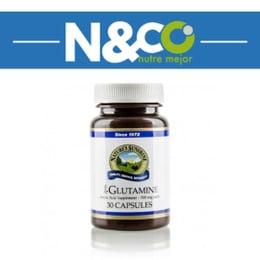 L-Glutamina- 30 capsulas.