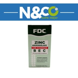 Zinc con Bec (60 Capsulas)
