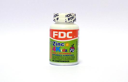 Zinc 4 Kids - (Vitamina + Zinc, especial para niños)