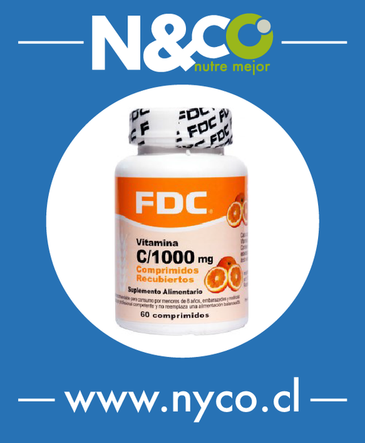 Vitamina C 1.000 (60 Capsulas)