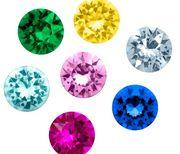 Cristales de colores
