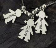Collar Niños personalizados Plata 925