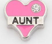Corazón rosado tía
