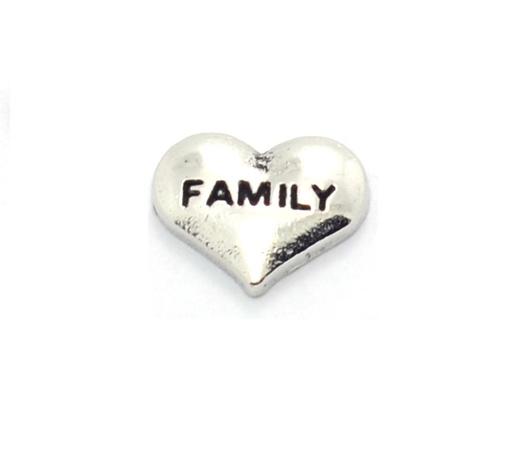 Corazon family plateado