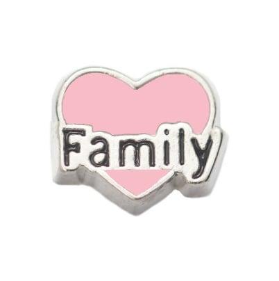Corazon family rosado