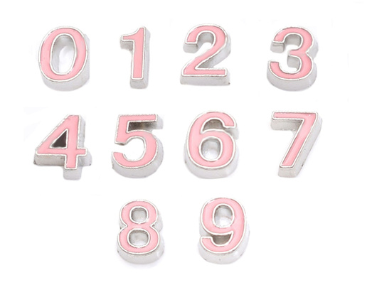 Numeros rosados