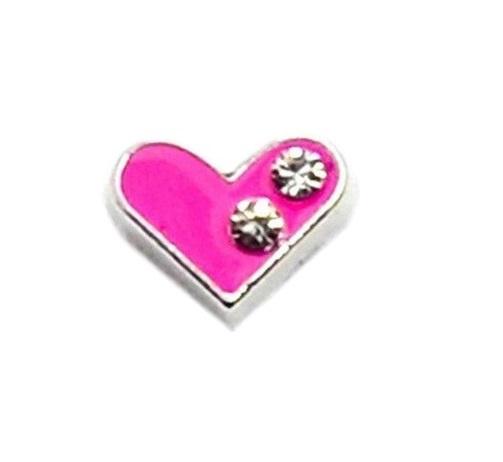 Corazon rosado cristal