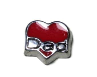 Corazón rojo Dad