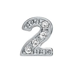 Número con brillo