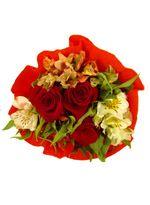 Ramo 3 Rosas Crepe
