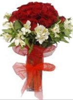 Florero 24 Rosas