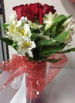 Florero 6 Rosas