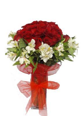 Florero 50 Rosas